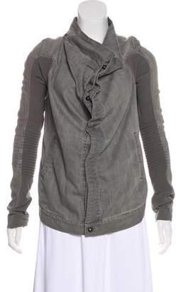 Rick Owens Convertible Denim Jacket