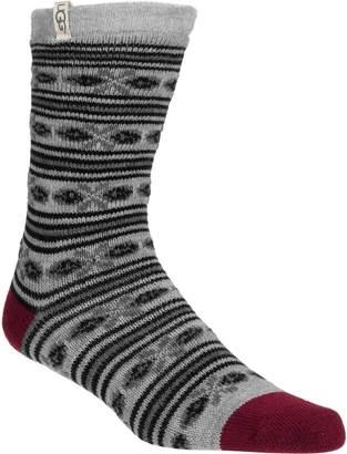 UGG Fair Isle Fleece Lined Sock - Women's
