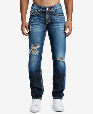 True Religion Men's Slim-Fit Big T Jeans
