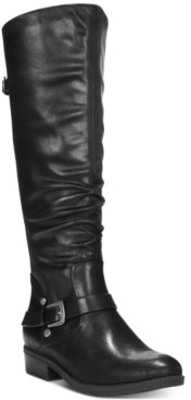 Bare Traps Baretraps Yanessa Wide-Calf Riding Boots Women's Shoes