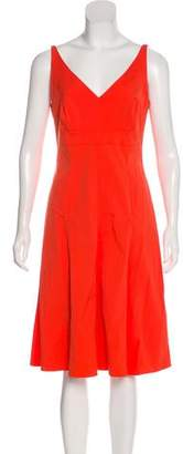 Narciso Rodriguez Sleeveless A-Line Dress
