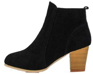 Gillberry Shoes Gillberry Autumn Winter Boots High Heels Boots Shoes Boots Women Ankle (8, )