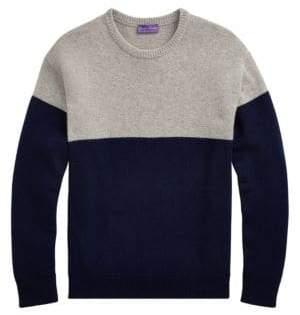 Ralph Lauren Purple Label Cashmere Jersey Sweater