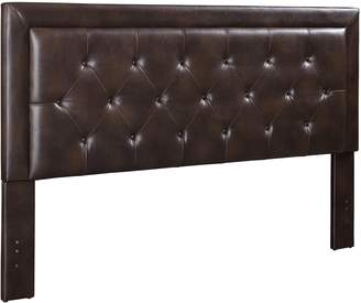 Linon Corie Tufted King Headboard