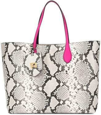 Rochas snakeskin-effect tote bag