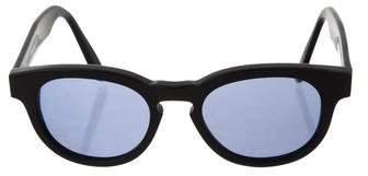 Illesteva Murdoch Reflective Sunglasses