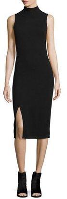 Autumn Cashmere Cashmere Sleeveless Turtleneck Dress $352 thestylecure.com