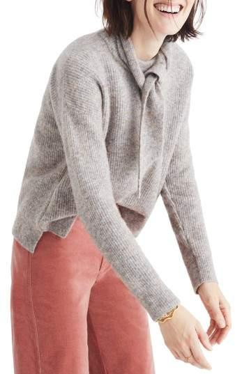 Madewell Sweater & Scarf Set