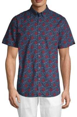 Ben Sherman Parks Floral Button-Down Shirt