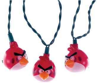 Kurt Adler Ul 10 Light Injection Mold Angry Birds Light Set