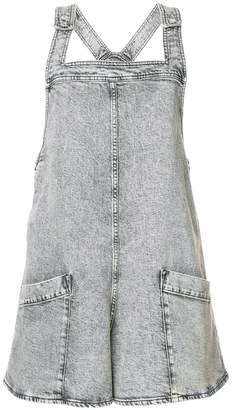 Stella McCartney denim dungarees shorts
