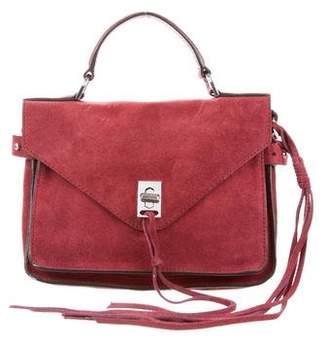 Rebecca Minkoff Mini Suede & Leather Satchel