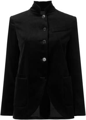 Alberto Biani velvet buttoned blazer