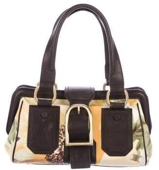 Celine Vintage Canvas Shoulder Bag