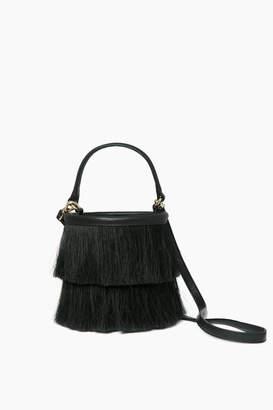 Neely & Chloe Neely Chloe Black Horse Hair Bucket Bag