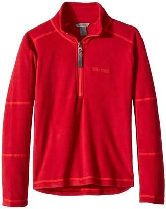 Marmot Kids Boy's Rocklin 1/2 Zip Boy's Sweatshirt