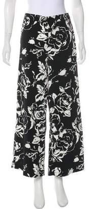 Lauren Ralph Lauren Mid-Rise Wide-Leg Pants