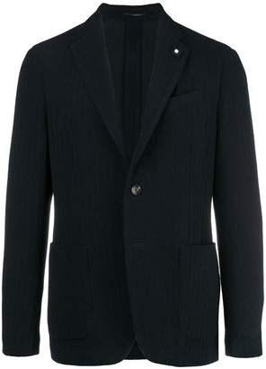 Lardini classic buttoned blazer