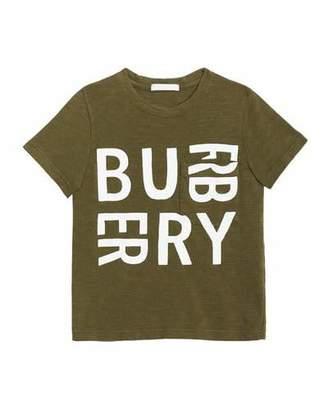 Burberry Furgus Logo Pocket Tee, Size 3-14