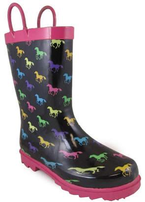 SMOKY MOUNTAIN Smoky Mountain Girls Rain Boots Waterproof