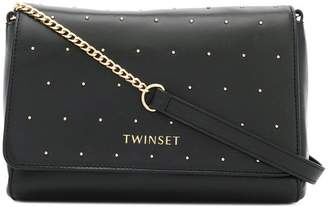 Twin-Set studded shoulder bag