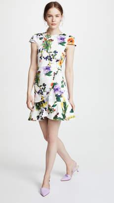 Alice + Olivia Kirby Ruffle Dress