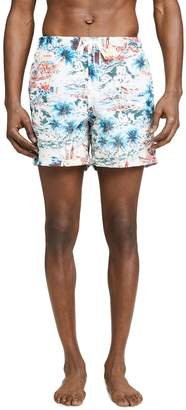 Trunks Bather Daytime Hawaii Print Swim