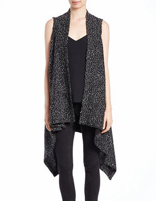 Lord & Taylor Plush Knit Flyaway Cardigan $94 thestylecure.com