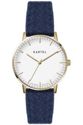 Ladies Kartel Scotland Lewis 34mm Cashmere Watch KT-LEW34-GWFN