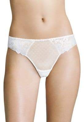 Aubade Wandering Love Embroidered Thong