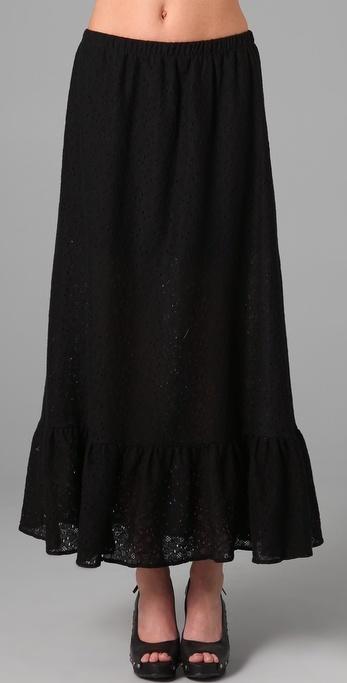 State & Lake Long Skirt