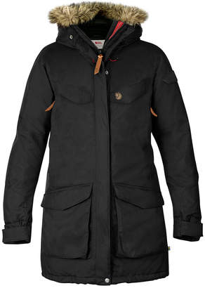 Fjallraven Nuuk Faux-Fur-Trim Hooded Parka Coat