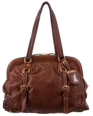 Prada Cervo Antik Frame Bag
