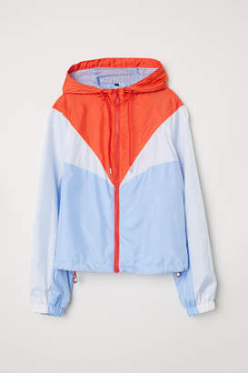 H&M Color-block Outdoor Jacket - Blue