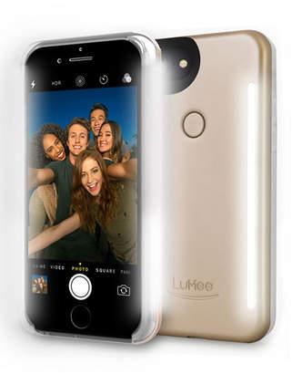 LuMee iPhone® 7 Plus Photo-Lighting Duo Case, Matte Gold