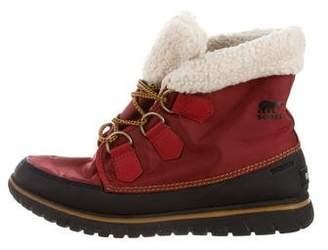 Sorel Waterproof Shearling-Lined Boots