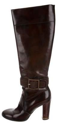 Stella McCartney Patent Knee-High Boots
