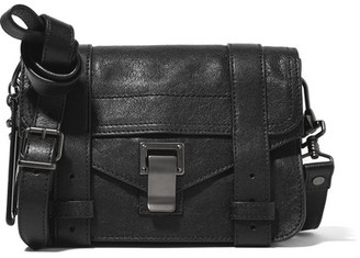 Proenza Schouler - The Ps1 Mini Leather Satchel - Black $890 thestylecure.com