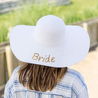 Cathy's Concepts CATHYS CONCEPTS Bride Sequin Beach Hat