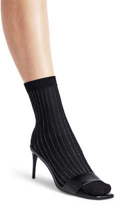 Wolford Sparkle Stripe Ankle Socks
