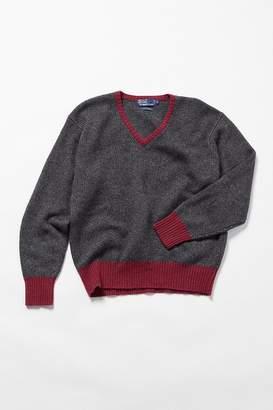 Urban Renewal Vintage Polo Ralph Lauren Grey Cashmere Sweater