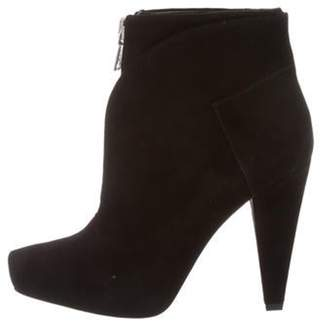 Proenza Schouler Suede Ankle Boots w/ Tags Black Suede Ankle Boots w/ Tags