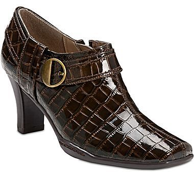 Aerosoles A2 by Fascination Buckle Ankle Shoes