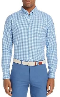 Vineyard Vines Seafloor Tucker Gingham Classic Fit Button-Down Shirt