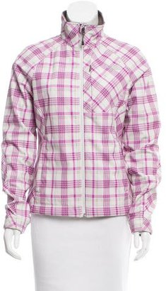 The North Face Plaid Weather Proof Jacket $70 thestylecure.com
