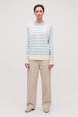 535d7338ad57 Blue And White Striped Jumper - ShopStyle UK
