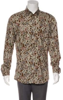 Dolce & Gabbana Printed Button-Up Shirt