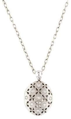 Roberto Coin 18K Diamond Granada Locket Necklace