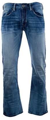 Buffalo David Bitton Men's King Slim Boot Cut Fashion Jean in A Wash