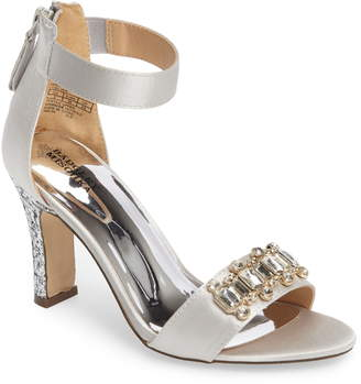 9355f79ba Badgley Mischka Collection Kendall Glitterati Sandal
